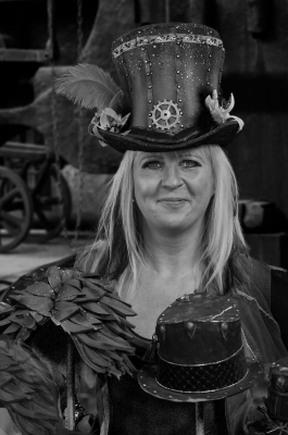 1 Steam Punk Hat Sales  Lady