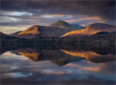 1 Causey Pike from DerwentWater