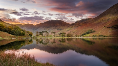 1 Sunrise Reflections Over Buttermere -17