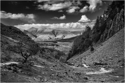 2 Skiddaw From The Path To Caslte Crag
