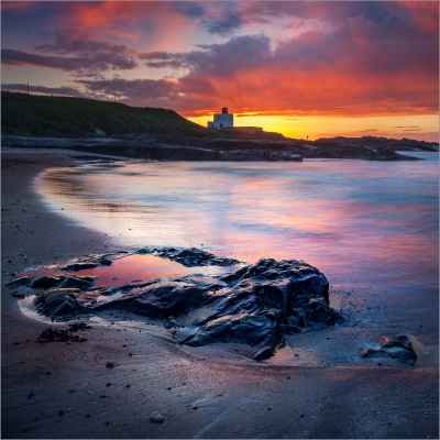 2 The Red Rockpool - Bamburgh