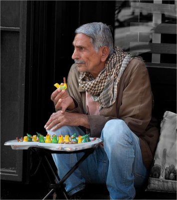 The Whistle Seller
