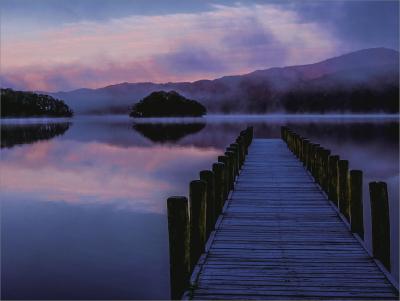 3 dawn on coniston water jpg - Copy
