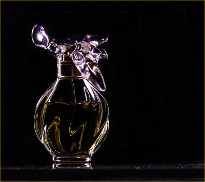 2 Perfume bottle