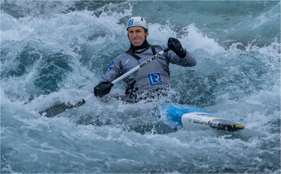16 Olympic hopeful canoe slalom