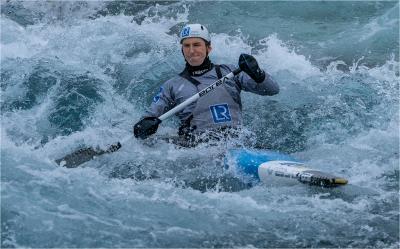 16 Olympic hopeful canoe slalom