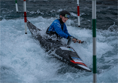 4 Olympic hopeful  kayak slalom