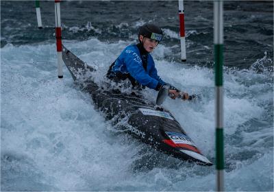 4 Olympic hopeful  kayak slalom