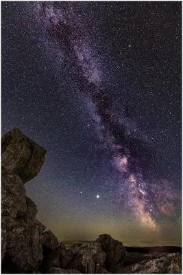 Milkyway over Siperstones