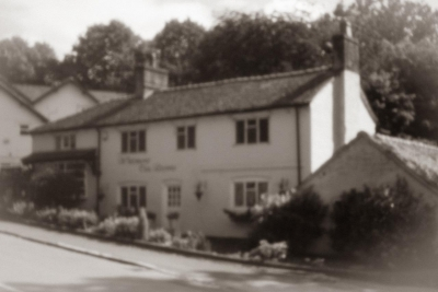 Pinhole Camera Image - Whitmore Tea Rooms-1
