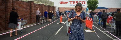 Queueing at Tesco