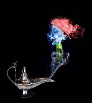 Wacky Backy smoke by Brian Evill