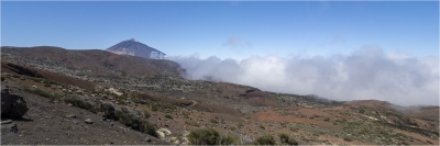 Low cloud at Mt Teide