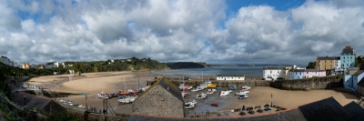Tenby Harbour and Bay