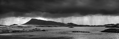 storm over mount eaval