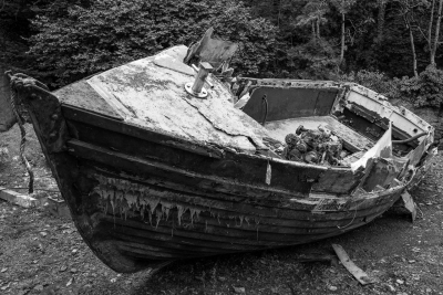 Derelict Boat, Anglesey-1